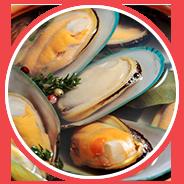 Used in shellfish