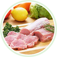 Used in meat products